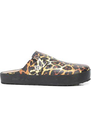 MISBHV Zapatos con estampado de leopardo