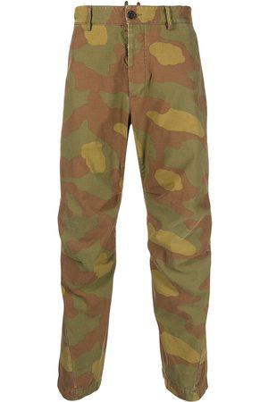 Dsquared2 Pantalones cargo con motivo militar
