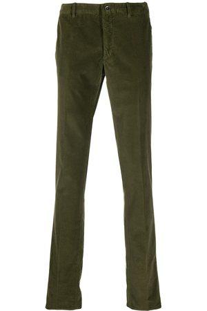 Incotex Elasticated corduroy trousers
