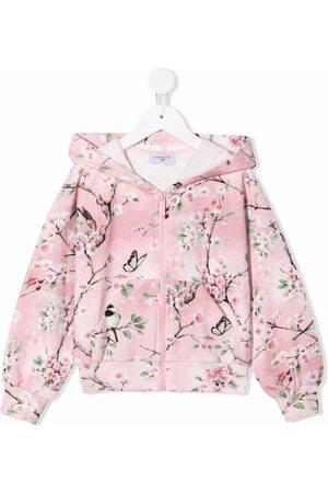 MONNALISA Con capucha - Hoodie con motivo floral