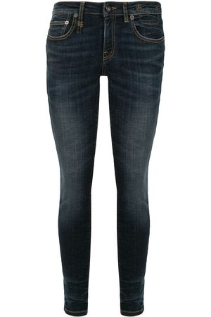 R13 Mujer Skinny - Skinny jeans con tiro bajo