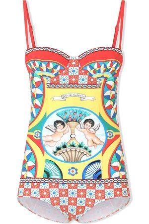 Dolce & Gabbana Traje de baño con estampado gráfico