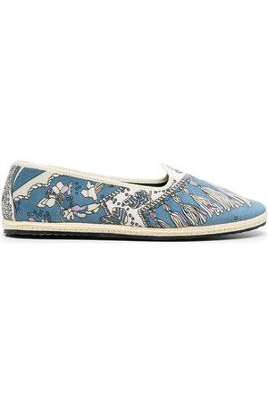 Emilio Pucci Mujer Flats - Slippers con estampado Rugiada