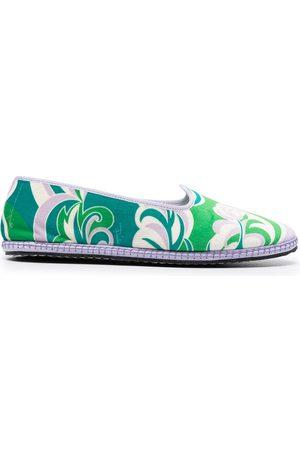 Emilio Pucci Mujer Flats - Slippers estampados Friulana Albizia Baby