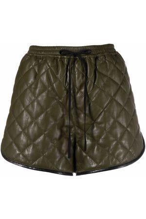 Self-Portrait Mujer Shorts - Shorts con capitonado de rombos
