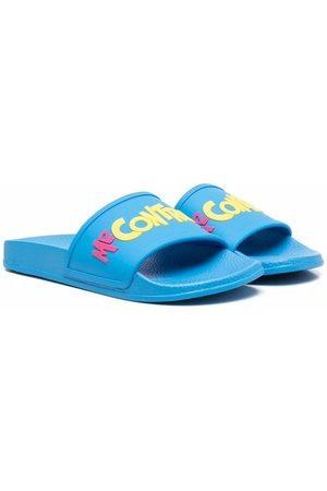 Liu Jo Niña Flip flops - Flip flops con eslogan en relieve