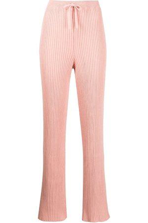 MARQUES'ALMEIDA Mujer Pantalones y Leggings - Pantalones tejidos de canalé