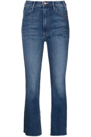 Mother Mujer Acampanados - Jeans capri Ankle Fray