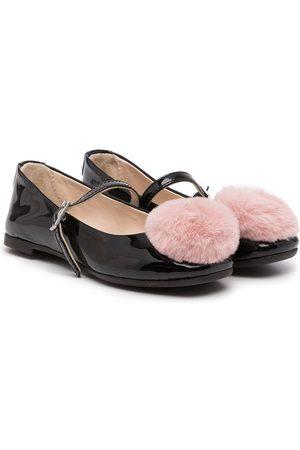 Emporio Armani XXD006XOV05 A155 BLACK+PINK Furs & Skins->Leather