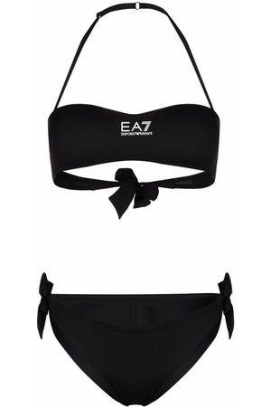 EA7 Mujer Bikinis - Bikini con cuello halter