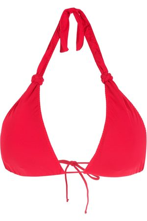 CLUBE BOSSA Mujer Bikinis - Top de bikini con cuello halter y detalle trenzado
