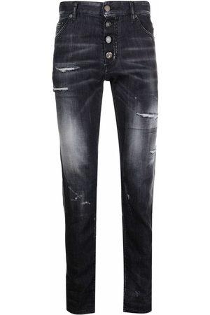 Dsquared2 Jeans slim con efecto desgastado