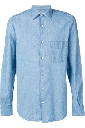 Aspesi Hombre De mezclilla - Camisa de mezclilla clásica