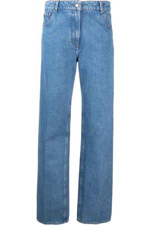 Nina Ricci Jeans rectos con tiro alto