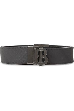Burberry Cinturón con motivo London Check