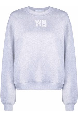 Alexander Wang Suéter con logo estampado