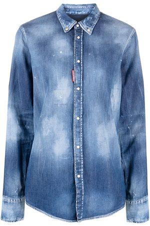 Dsquared2 Camisa de mezclilla con botones