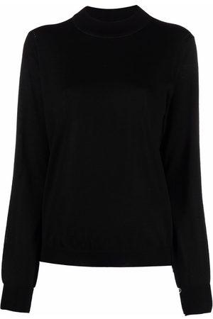 Maison Margiela Mujer Suéteres - Suéter tejido con cuello redondo