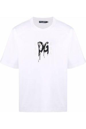 Dolce & Gabbana Hombre Playeras - Camiseta con logo estampado