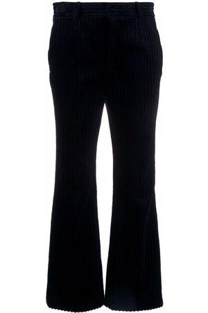 RED Valentino Mujer Pantalones y Leggings - Ribbed velvet trousers