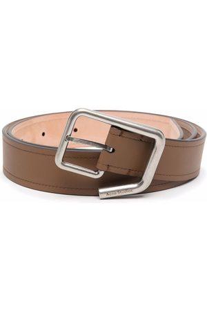 Acne Studios Engraved-logo buckle belt