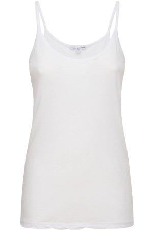 James Perse Mujer Tops - Camiseta Cami De Jersey De Algodón Ligero