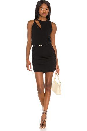 N:philanthropy Vestido charley en color negro talla L en - Black. Talla L (también en XS, S, M).