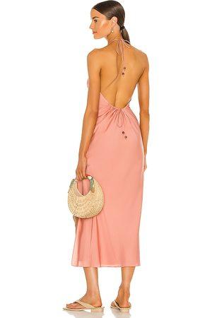 Song of Style Maxivestido rosalind en color rosado talla L en - Pink. Talla L (también en XXS, XS, S, M, XL).