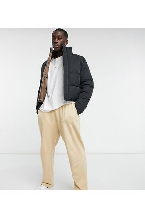ASOS Organic super oversized joggers in with toggle hem
