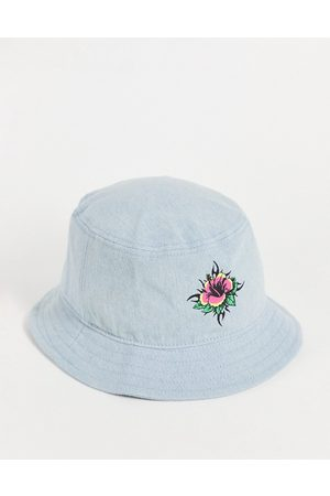 Quiksilver Uncle Surfer bucket hat in blue