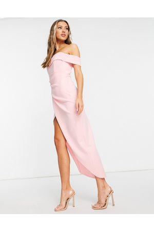TFNC Maxi dress in pink