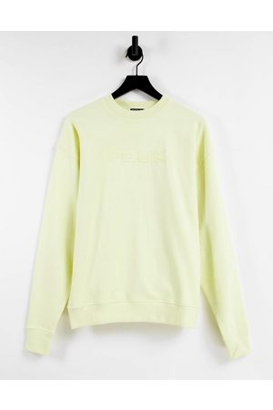 French Connection Embroidered oversized sweater co