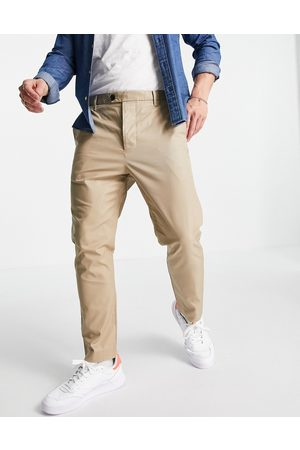 AllSaints Kato trousers in taupe