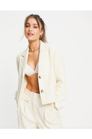 SELECTED Femme cropped blazer co