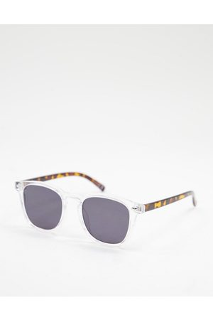 Jeepers Peepers Womens square sunglasses in clear