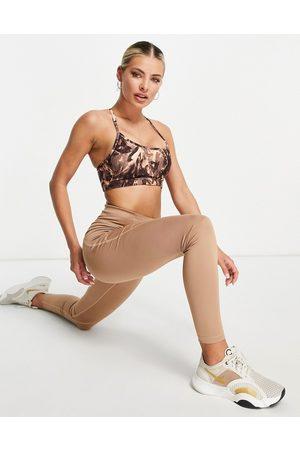 LORNA JANE Kimmy marble print low support sports bra