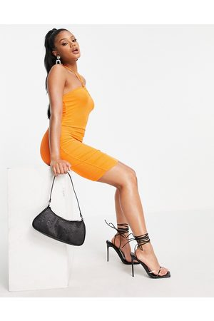 Fashionkilla Cut out mini dress in orange