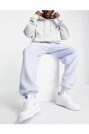 River Island Hombre Joggers - Oversized joggers in blue