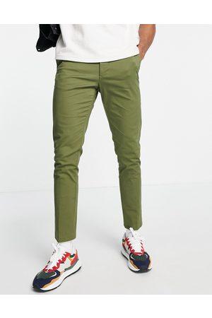 New Look Hombre Chinos - Skinny chino in khaki