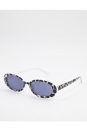 My Accessories London cat eye sunglasses in cow print