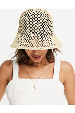 & Other Stories Mujer Sombreros - Straw bucket hat