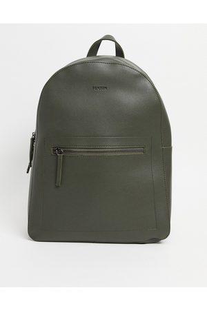 FENTON Hombre Mochilas - Pu zip front backpack