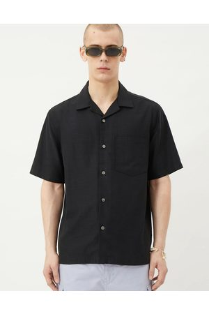 Weekday Chill short sleeve shirt in black