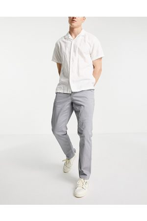 New Look Hombre Chinos - Slim chinos in mid blue