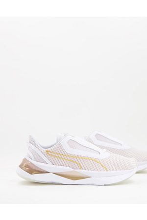 Puma Mujer Tenis - Lqdcell XT Metal trainers in white and gold