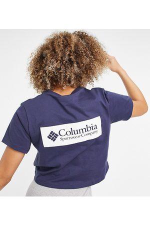Columbia North Cascades crop back print t