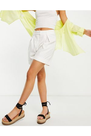 4th & Reckless 4th + Reckless tailored short in white