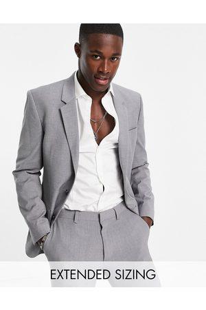ASOS DESIGN Slim suit jacket in grey