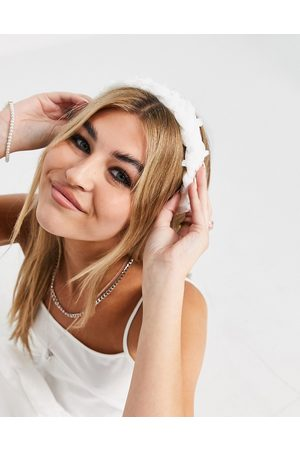 Liars & Lovers Mujer Accesorios para el cabello - Plaited headband in white