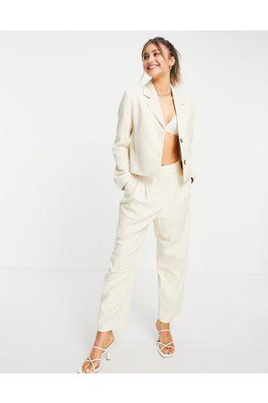 Selected Femme wide leg trouser co